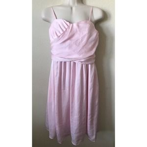 Tevolio Ruched Straps Strapless Sleeveless Dress